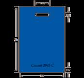 пакет синий 2945