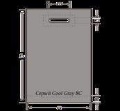 Серый Cool Gray 8C